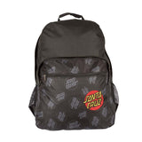 Santa Cruz Allover Dot Backpack Black