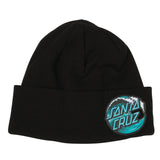 Santa Cruz Wave Dot Long Shoreman Beanie Black