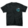 Santa Cruz Wave Dot Men's Regular T-Shirt Spider Black
