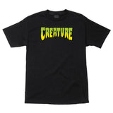 Creature Logo T-Shirt Black