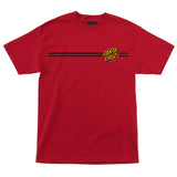 Santa Cruz Classic Dot Regular T-Shirt Youth Red