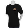 Santa Cruz Other Dot Fitted Girls T-Shirt Black