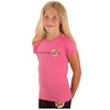 Santa Cruz Other Dot Fitted Girls T-Shirt Hot Pink