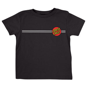 Santa Cruz Classic Dot Toddler T-Shirt Black