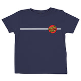 Santa Cruz Classic Dot Toddler T-Shirt Navy