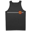 Santa Cruz Classic Dot Regular Fit Tank Top Charcoal Heather
