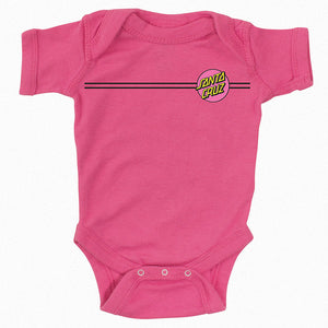 Santa Cruz Other Dot One Piece Infants Raspberry