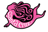 Tim Ward Santa Cruz Mermaid Sticker Pink