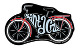 Tim Ward Santa Cruz Bicycle Sticker Black