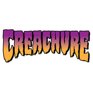 "Creature Gray Market Decal 3"" x 7"""