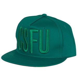 Creature CSFU Block Adjustable Twill Hat OS Forest Green