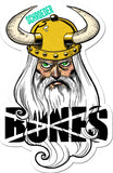 Bones Ben Schroeder Viking Sticker