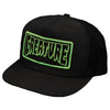 Creature Patch Trucker Mesh Hat Black