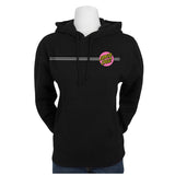 Santa Cruz Other Dot Pullover Hooded Juniors Sweatshirt Black