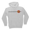 Santa Cruz Classic Dot Pullover Hooded Sweatshirt Youth Grey Heather
