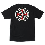 Independent Bar/Cross Regular T-Shirt Black