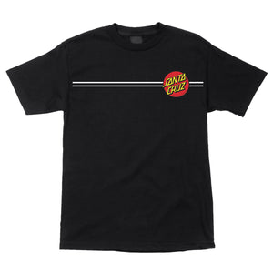 Santa Cruz Classic Dot Regular T-Shirt Black