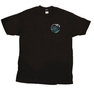 Santa Cruz Wave Dot Regular T-Shirt Black