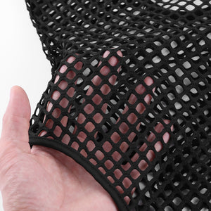 Fishnet Long Sleeve Swimsuit