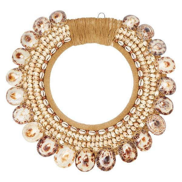 Round Shell Wall Hanging