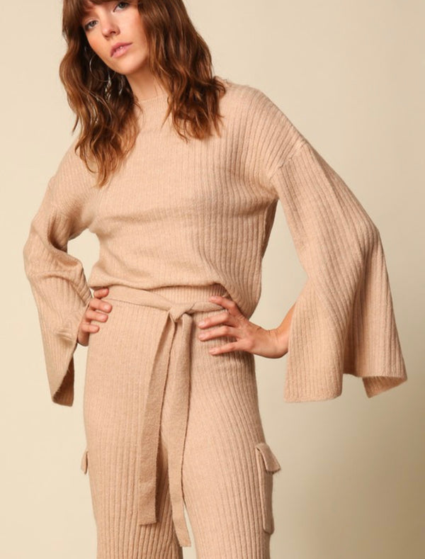 Taupe Ryder Sweater