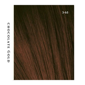 chocolate gold brunette hair color