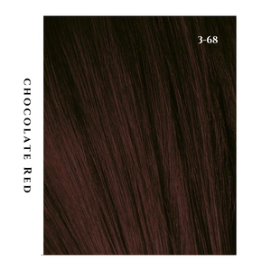 chocolate red brunette hair color