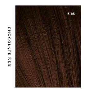 chocolate red medium brown hair color