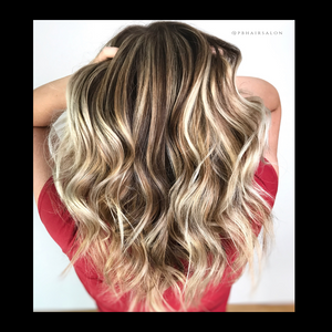 Balayage Chocolate Late Blonde 9