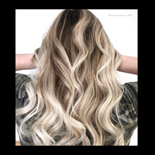 Load image into Gallery viewer, Balayage Natural Blonde, Antonino salon, salon 6, Tricho salon and spa,  Bianchi salon, Figo salon, Birmingham Salon, Schedule haircut online, Best Balayage in Michigan, Balayage Salon near me, Hair salons Birmingham, MI, Hair Salons Near me, Hair salon Near me, Hair Colorist near me, Color correction orange hair, Fix orange hair, Dimensional Balayage, Foilayage salon, Best Foilayage salon, foilayage salon near me, Best balayage salon near me, brunette balayage, blonde balayage,