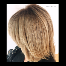 Load image into Gallery viewer, Balayage Caramel Blonde, Antonino salon, salon 6, Tricho salon and spa,  Bianchi salon, Figo salon, Birmingham Salon, Schedule haircut online, Best Balayage in Michigan, Balayage Salon near me, Hair salons Birmingham, MI, Hair Salons Near me, Hair salon Near me, Hair Colorist near me, Color correction orange hair, Fix orange hair, Dimensional Balayage, Foilayage salon, Best Foilayage salon, foilayage salon near me, Best balayage salon near me, brunette balayage, blonde balayage,