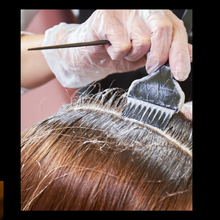 Load image into Gallery viewer, papillon Blanc Salon hair color services