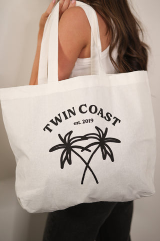 Twin Coast Tote Bag