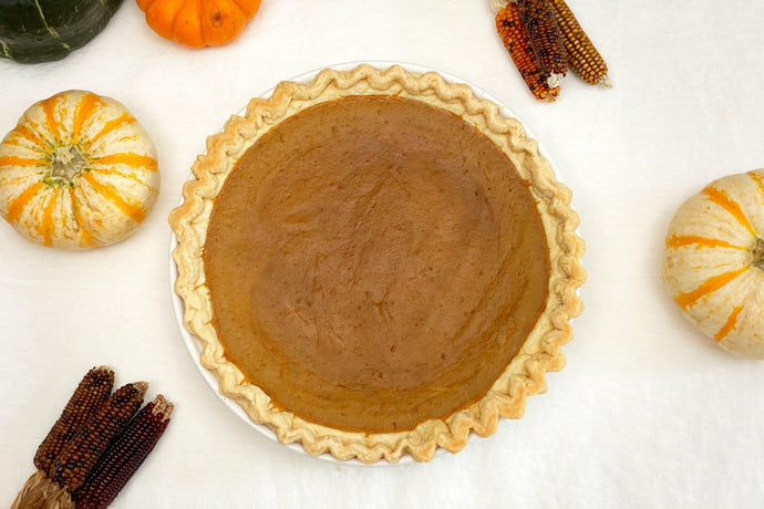 Willa's Dairy-Free Oat Milk Pumpkin Pie