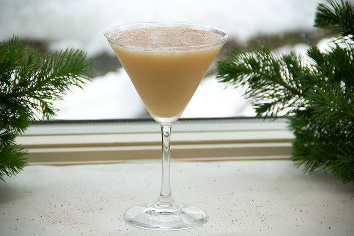 Willa's Brandy Alexander with Oat Milk