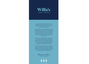Willas Oat Milk Package sideview