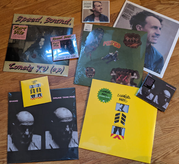 New Releases from David Bowie, Sleaford Mods, Shame, Kurt Vile, Pom Poko & new Lana Del Rey Album Announced