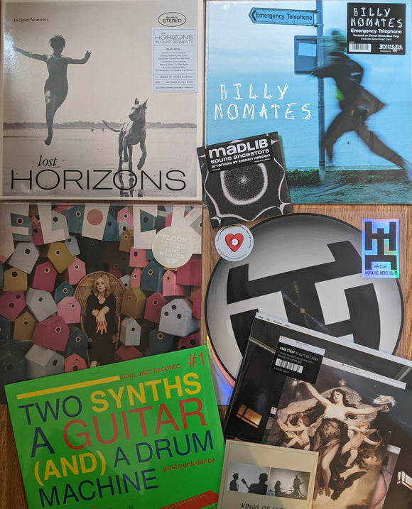 Jane Weaver, Billy Nomates, Arab Strap, Stereolab, Lost Horizons, Kings Of Leon, Ryuichi Sakamoto, Working Men's Club