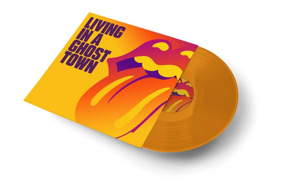 The Rolling Stones - Living In A Ghost Town - New 1 Sided Orange 10