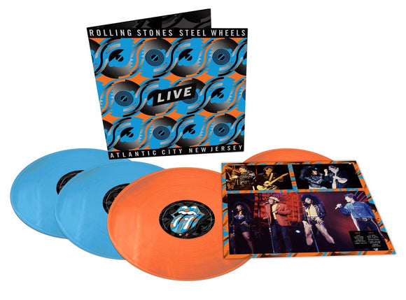 Rolling Stones - Steel Wheels Live – Atlantic City, New Jersey - New Ltd Edition 4LP