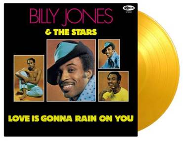 Billy Jones & The Stars - Love Is Gonna Rain On You - New Yellow LP - RSD Black Friday