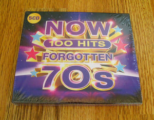 Various Artists - Now 100 Hits Forgotten 70s New 5CD
