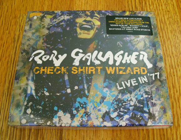 Rory Gallagher - Check Shirt Wizard Live in '77 New CD