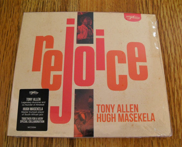 Tony Allen and Hugh Masekela - Rejoice New CD