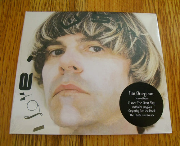 Tim Burgess - I Love The New Sky New CD