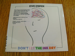Eve Owen - Don't Let The Ink Dry New CD