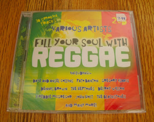 Various Artists - Fill Your Soul With Reggae New 2CD