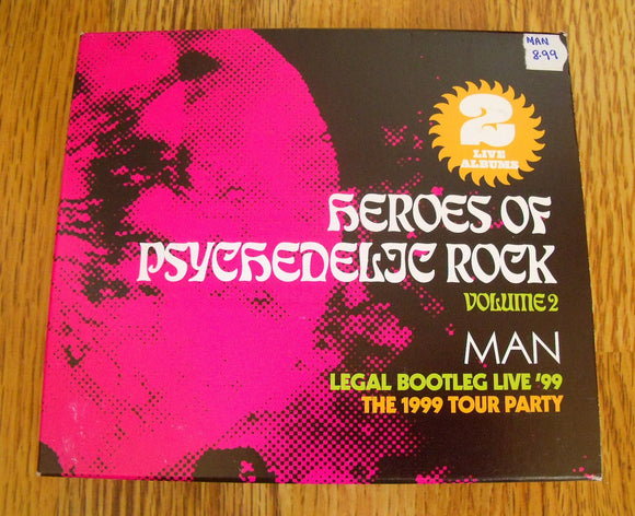 Man - Heroes of Psychedelic Rock Volume 2 New 2CD
