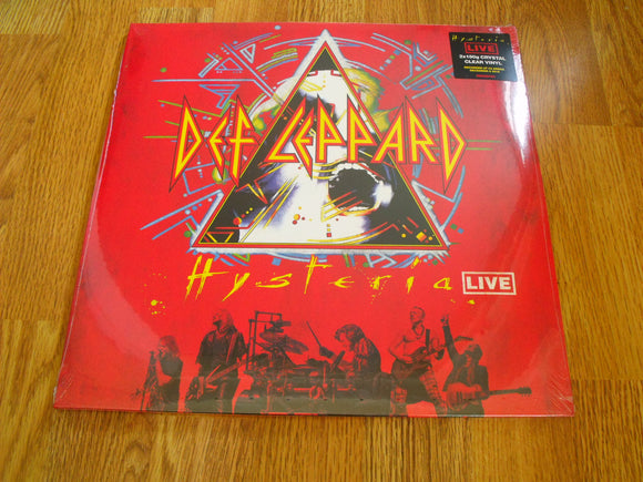 Def Leppard - Hysteria Live New Crystal Clear 2LP
