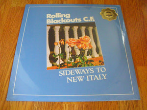 Rolling Blackouts C.F. - Sideways to New Italy New Ltd Blue LP